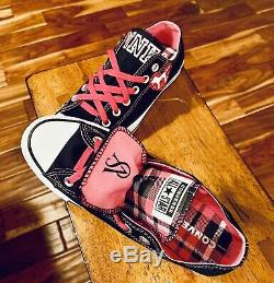 Converse All Star Chuck Taylor Womens Victorias Secret Pink Shoe Size 9