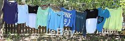 HUGE 30 pc. Lot Victoria Secret Pink clothing Hoodies, sweats, yoga, zip XS-Lg
