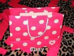 NEW VICTORIA SECRET PINK BLING HOODIE & YOGA PANTS 2 PCS SET + Gift Bag sz M