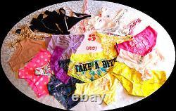 NWT / NIP Victoria's Secret & PINK wholesale mixed lot 120 PANTIES XS S M L XL