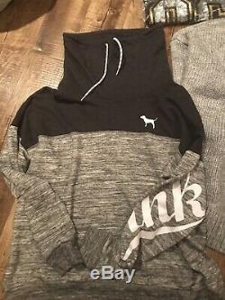 NWT Victoria Secret PINK BLING Lot (6) All LARGE Misc