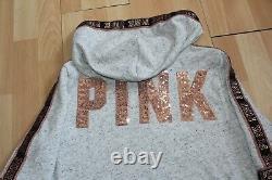 Nwt Womens Victorias Secret Pink Sz M Shorts Gray, Hoodie Bling