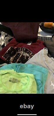 PINK Victoria Secret LOT Mixed Sizes Includes Shirts Robes Sweatshirts
