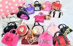 RARE Victorias Secret MINI PURSE ANGEL SUPERMODEL Key Chain Ring BAG CHARM NWT