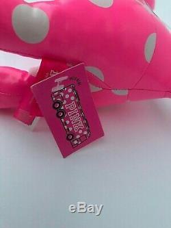Rare Victorias Secret Pink Limited Edition 13 Bus Tag Polka Dot Dog Holiday 2017