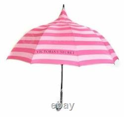 STUNNING Victorias Secret Iconic Stripe Limited Edition Parasol Umbrella NWT