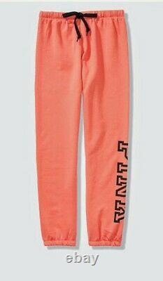 VICTORIA Secret Pink Full/Zip Graphic Hoodie+Matching sweatpant-XS/SM. Set+