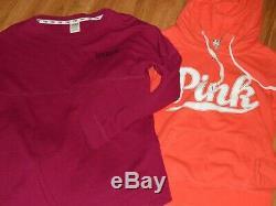 VS Victoria's secret PINK XS HUGE LOT sweatshirt shirt top bling sequin
