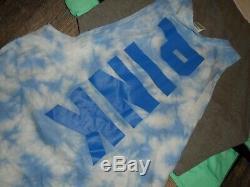 VS Victoria's secret PINK large top shirt sweatshirt bling huge lot of 7