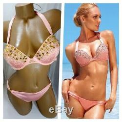 Victoria Secret 36b Add 2 Sizes Bombshell, Pushup, Halter Bikini Sets