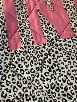 Victoria Secret PINK Cheetah Twin XL Reversible Bedding Blanket 68x92