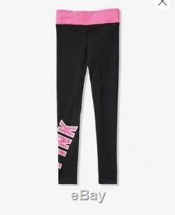 Victoria Secret PINK Cotton Leggings Bright Campus Tie Dye Tee Set L XL New