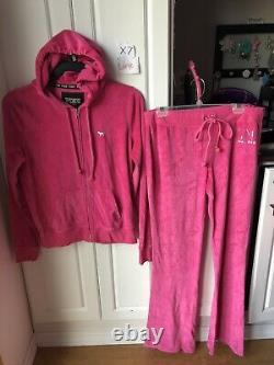 Victoria Secret PINK Large 3 Piece Set Bling Tee/hoodie/sweatpants, All Bling