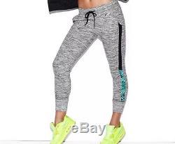 Victoria Secret PINK Skinny Collegiate Gym Pants+Perfect Crew+Top Logo S