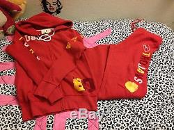 Victoria Secret PINK USC college set Super Cute! RARE size Large Collegiate