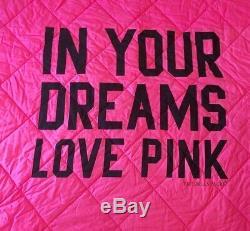 Victoria Secret Pink Comforter Bedding Set In Your Dreams Leopard Rose Twin