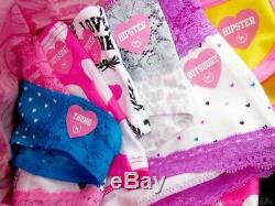 Victoria Secret/pink Panties Lot Of 50 Mixed Styles