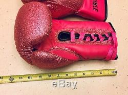 Victoria Secrets Sport Boxing Gloves Incredible Store Display Prop Pink Black