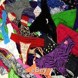 Victoria's Secret Lot of 200 Panties Mixed Pink Vs Cotton Bikini Thong Wholesale