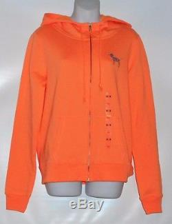Victoria's Secret Love Pink Limited Edition Fashion Show Bling Sequin Hoodie M