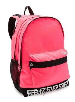 Victoria's Secret PINK NATION Campus HOT PINK Backpack Bookbag School College