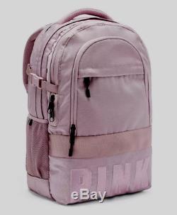 Victoria's Secret Pink Collegiate Backpack Logo Large Full Size New