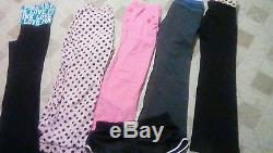 Victoria's Secret Pink Used Clothing Lot Huge 34 pc. Xs, S, M, Lg Good Price