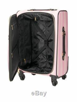 Victoria's Secret Wheelie Luggage Suitcase Signature Stripe Carry On