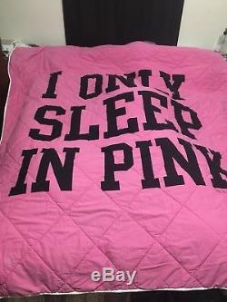 Victoria secret pink comforter queen
