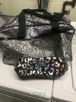Victoria secret pink luggage set