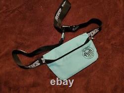 Victoria secret pink seafoam aqua turquoise bag set lot