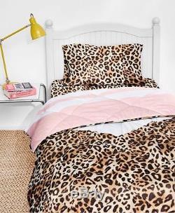 Victorias Secret Pink Bed In A Bag Comforter Set Queen-new