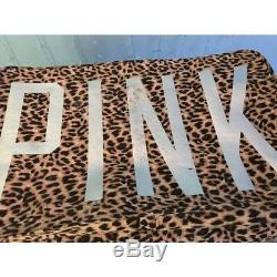 Victorias Secret Pink Cheetah Trunk Rare