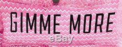 Victorias Secret Pink Chevron Design Body Pillow-new