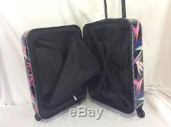 Victorias Secret Pink HARD SHELL GRAPHIC Carry On Wheelie Suitcase Bag NWT