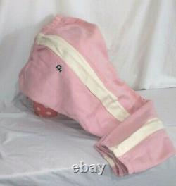 Victorias Secret Pink Quarter Zip & Classic Pant SET Hoodie Sweatshirt NWT L