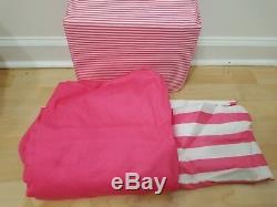 Victorias Secret Pink Queen Size Sheet Set NEW