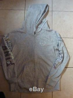 Victorias Secret Pink Rare Bling Bling Limited Edition Wreathpink Hoodie Nwt
