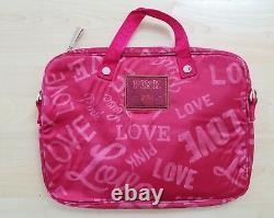 Victorias Secret Pink Satin Laptop Bag-new