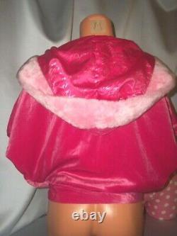 Victorias Secret Santa Baby Fur Hoodie Hooded Wrap NWT XS S