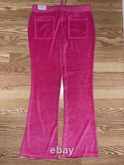 Vintage NWT Victoria Secret PINK Velour Sequins Hoodie Jogger Pants Outfit Set