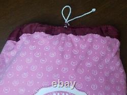 Vintage PINK Victoria Secret Laundry Bag/College Dorm Bag. Pink University