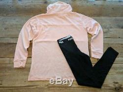 Vs Pink Victoria's Secret Pink Shine Logo Campus Pullover And Legging Gift Set