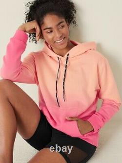Vs Victorias Secret Pink Active Fleece Pullover Hoodie Sweater Top XL